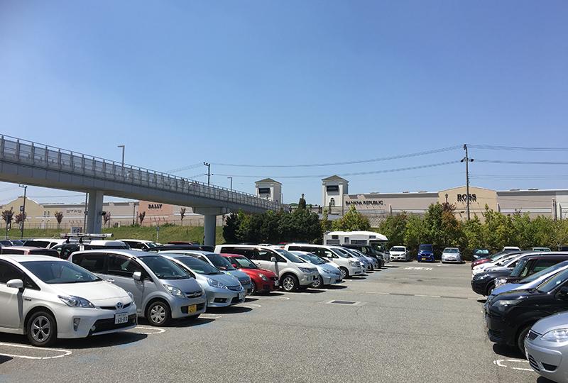 イオン駐車場